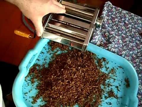 №31 Табак Нарезка табака лапшерезкой 2