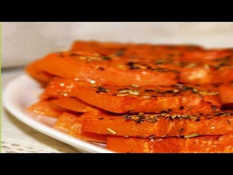 Тыква запеченная в духовке. | Pumpkin baked in the oven.