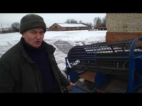 барабанная сортировка картофеля своими руками