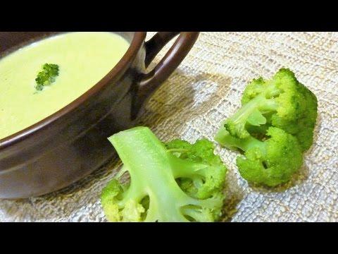 Суп-пюре из капусты брокколи.Самый полезный крем-суп.