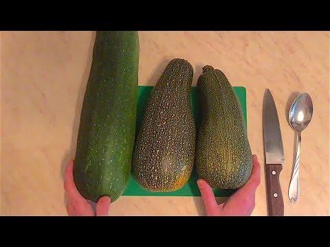 Кабачки и цуккини на зиму | Заморозка кабачков и цуккини