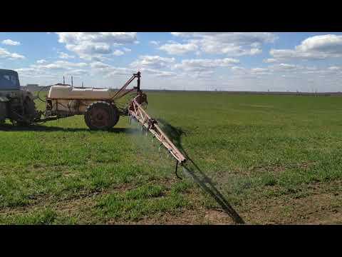 Карбамид 40кг./га. по листу на пшеницу