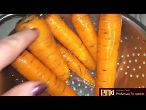 Как я храню морковь в холодильнике.