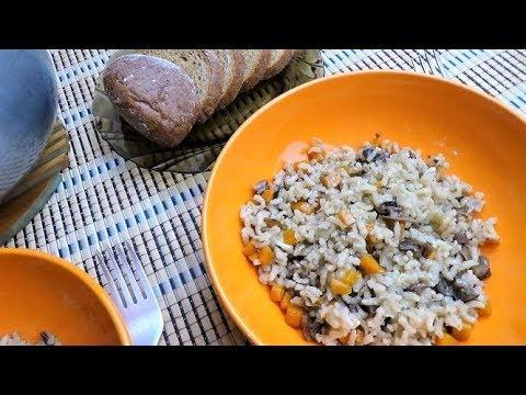 Обалденное блюдо или как вкусно приготовить БУРЫЙ РИС