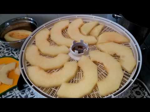 Как сушить дыню или арбузы дома?