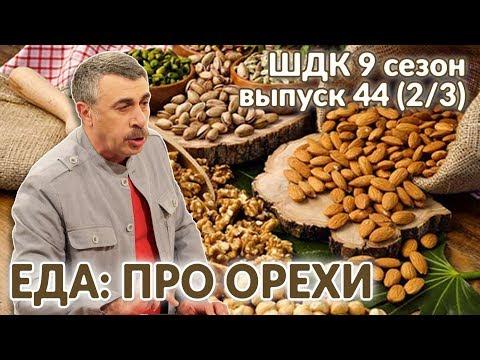 Еда: про орехи - Доктор Комаровский