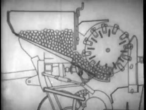 Посадка картофеля машиной СН 4