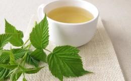 Отвар из листьев малины — полезный чай