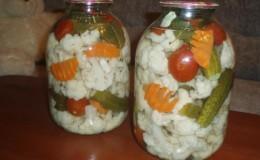 Простые и вкусные рецепты засолки цветной капусты на зиму