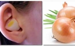 Особенности лечения болезней уха с помощью лука