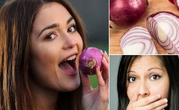 Как быстро и эффективно избавиться от запаха лука изо рта