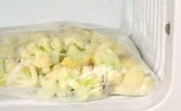 Как правильно хранить цветную капусту