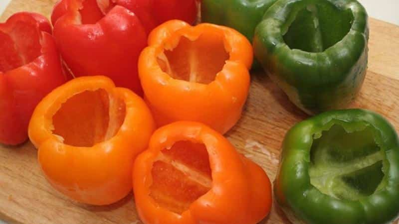 Как заморозить перец на зиму для фаршировки: инструкция по приготовлению вкусной и полезной заготовки