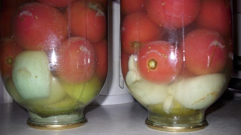 Как вкусно и необычно заготовить розовые помидоры на зиму - подборка лучших рецептов