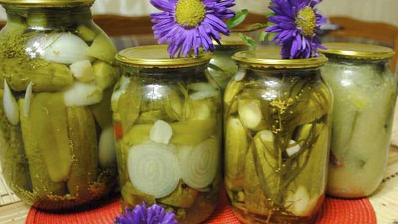 Как приготовить ароматные и хрустящие огурцы с горчицей на зиму