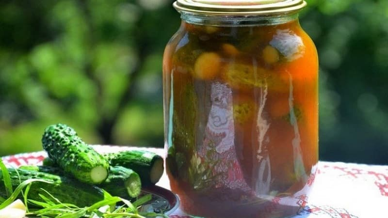 Как заготовить на зиму маринованные огурцы с кетчупом чили: рецепты и советы