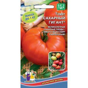 """Собираем 5-6 кг помидоров с куста, выращивая томат """"Сахарный гигант"""""""