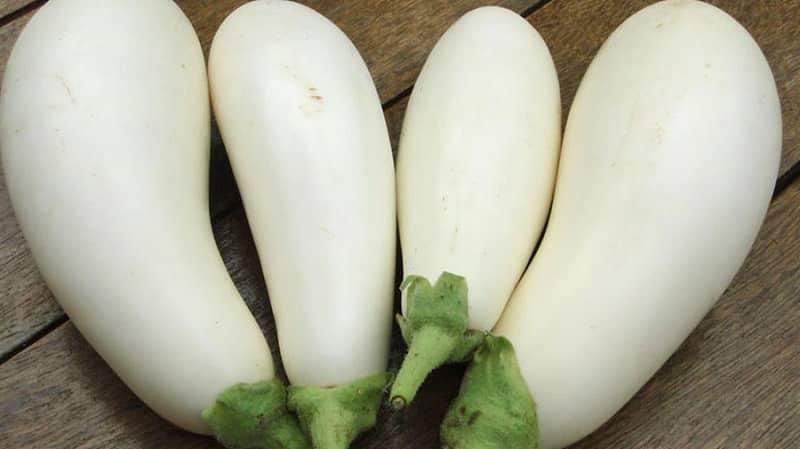 Что такое белые баклажаны и чем они отличаются от обычных