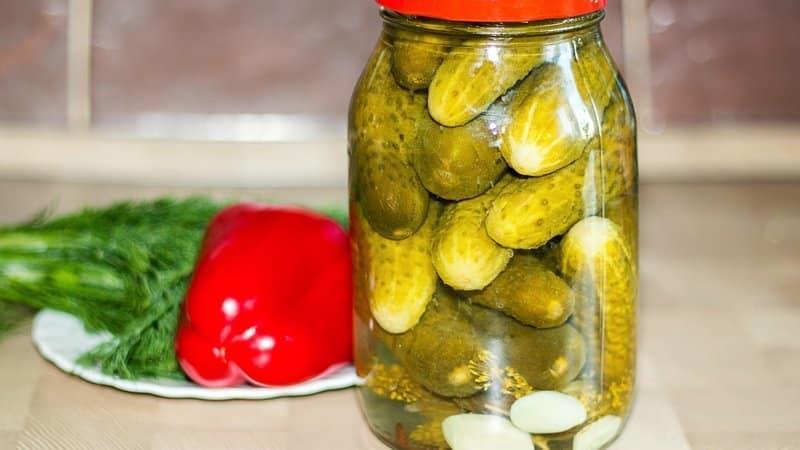 Самые вкусные заготовки маринованных огурцов с лимонной кислотой