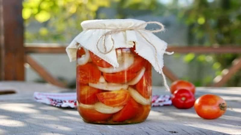 Как приготовить помидоры дольками на зиму: подборка лучших рецептов консервации кусочков томатов