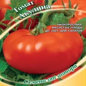 """Крупноплодный сорт с приятным вкусом - томат """"Акулина"""" и поэтапное руководство по его выращиванию"""