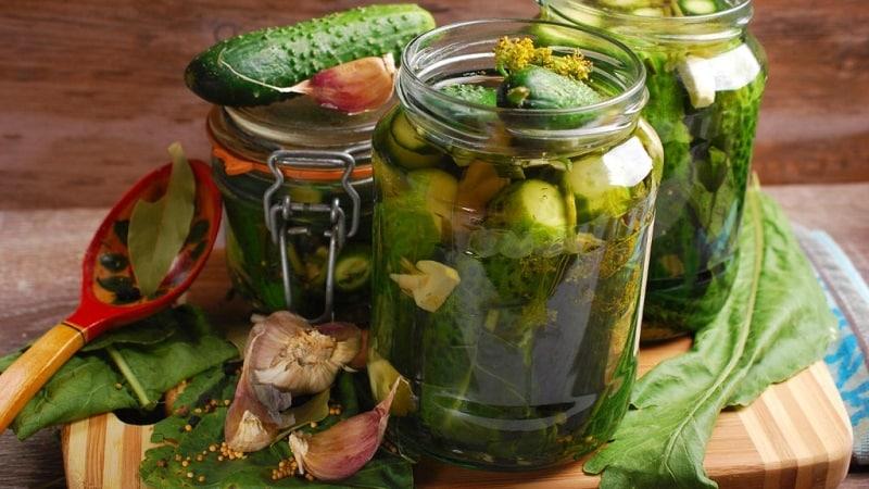 7 самых вкусных рецептов консервированных огурцов корнишонов