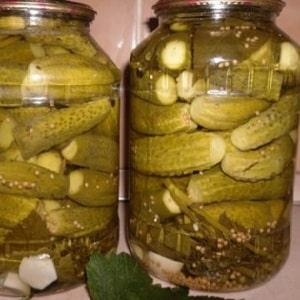 Как заготовить вкуснейшие соленые огурцы с горчицей на зиму