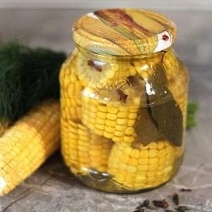 Заготовки на зиму из молодой кукурузы