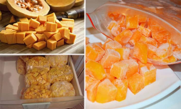 Как хранить разрезанную тыкву в домашних условиях: лучшие способы и сроки хранения свежего овоща