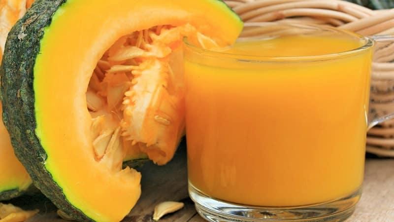Польза тыквенного сока для женщин: знакомимся с лечебными свойствами, готовим самостоятельно и пьем правильно