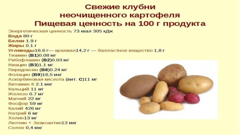 Какая калорийность у картошки и толстеют ли от нее?