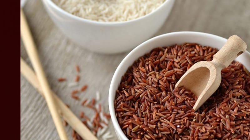 Калорийность и полезные свойства бурого риса для организма человека