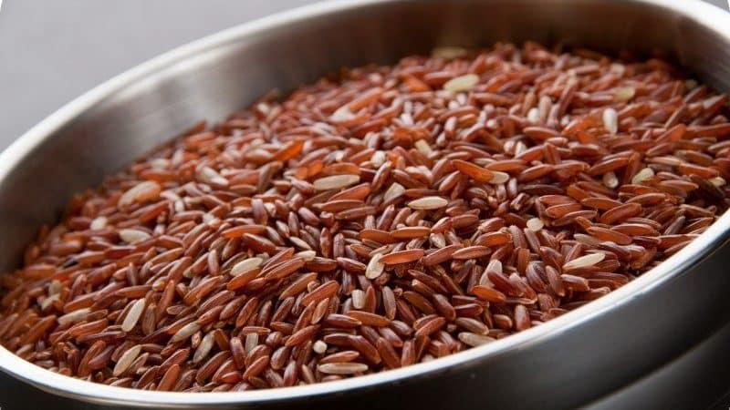 Калорийность и полезные свойства риса Рубин