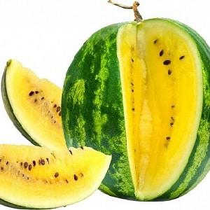 Описание и характеристика желтых арбузов