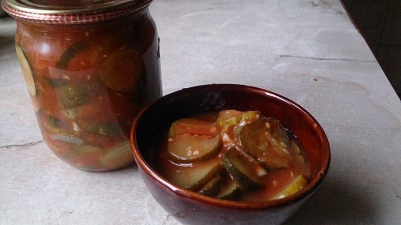 Подборка вкусных рецептов заготовок из перезревших огурцов на зиму