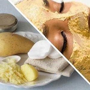 Рецепты изготовления домашних картофельных масок для лица от морщин
