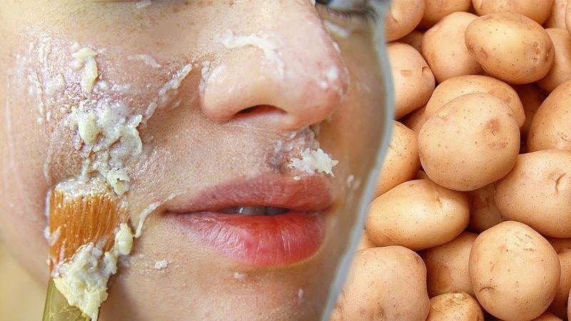 Лучшие картофельные маски для лица