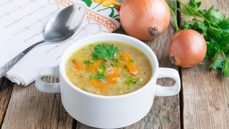 Быстрое и вкусное похудение на луковом супе
