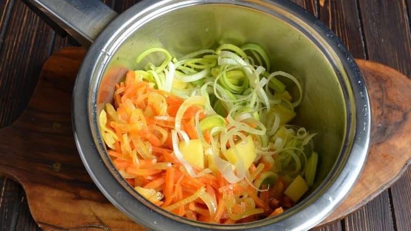 Как правильно готовить и есть суп из лука порея для похудения
