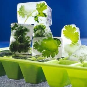 Лед из петрушки для лица рецепты