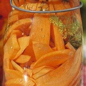 Лучшие рецепты приготовления маринованной моркови