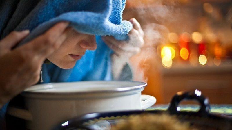Как правильно дышать над картошкой при гайморите и можно ли это делать