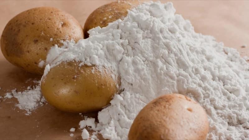 Применение картофельного крахмала в народной медицине и в быту