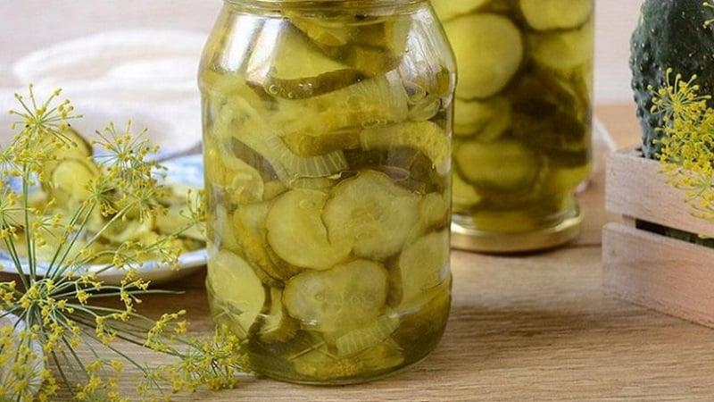 Рецепты очень вкусных резаных огурцов, маринованных в банках на зиму
