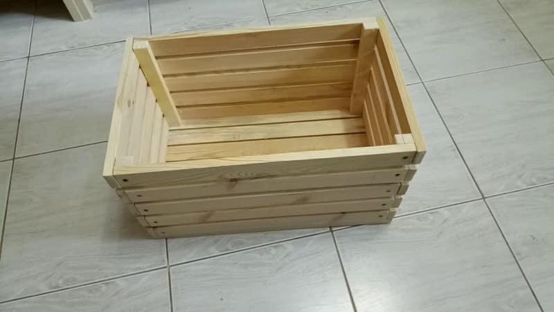 Ящик для картошки своими руками в коридоре