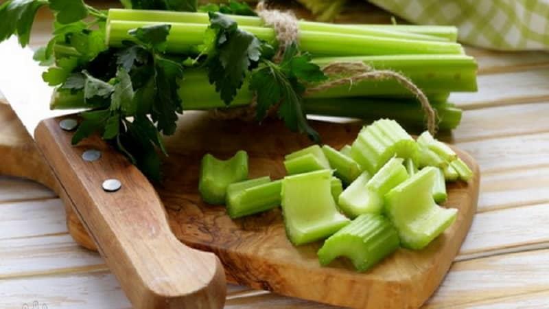Стебель сельдерея - как правильно употреблять в пищу