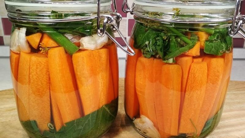 Пошаговые рецепты: как солить морковь на зиму