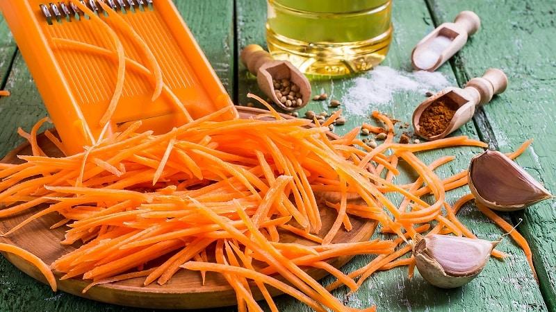 Какая калорийность у моркови по-корейски и можно ли ее есть при похудении
