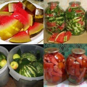 Рецепты консервации арбузов с горчицей на зиму