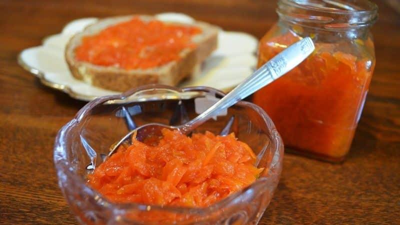 Как сварить вкусное и полезное варенье из моркови: лучшие рецепты